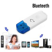 Professional USB Bluetooth Stereo Audio Music Wireless Receiver Adapter for Car Speaker Support
