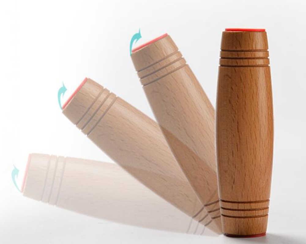 Nouveau Mokuru Rollver bureau jouets à rabat bâton jouet soulager le Stress améliorer la mise au point idéal pour le Stress cadeau de noël