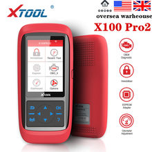 XTOOL X100 Pro2 OBD2 otomatik anahtar programcı/kilometre ayarı EEPROM adaptörü ile