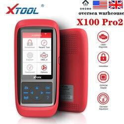 XTOOL X100 Pro2 OBD2 Auto Key Programmer/Mileage Adjustment with EEPROM Adapter