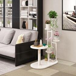 Półka  wielowarstwowa cena promocyjna w pomieszczeniach  oszczędność miejsca  strona sofy  kilka półek kombinowanych  półka metalowa doniczka