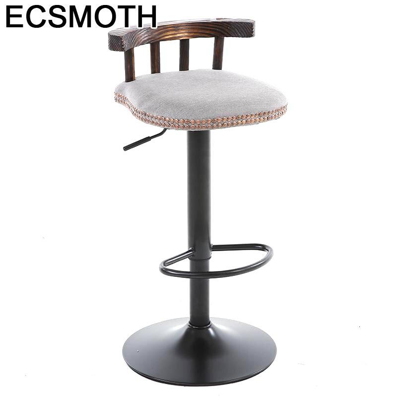 Sgabello Sedie Fauteuil Cadir Sedia Para Barra Sandalyesi Banqueta Todos Tipos Leather Stool Modern Silla Cadeira Bar Chair