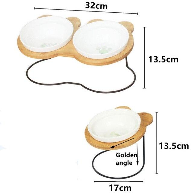 Bamboo Shelf Ceramic Bowls 4