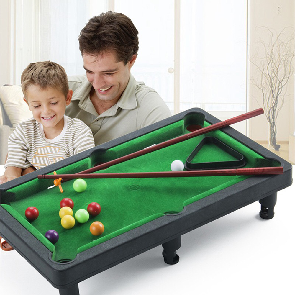 Board Games For Children Mini Billiards Snooker Toy Set Home Party Games Kids Boys Parent Child Interaction Game Education Toys