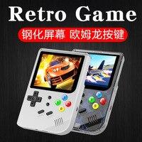 RG300 Jogo Retro Open Source Handheld Mini Arcade com 169 jogos de Jogos Compatíveis com o FC GBA bulit em 16bit 1800mah|Players de jogos portáteis| |  -