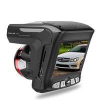 Russian 3 In 1 Car DVR Camera with Anti Radar Detector Laser HD 1080P Built in GPS Logger Alarm System Digital Video Recorder