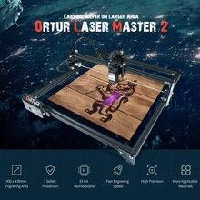 Schnelle Lieferung ORTUR Laser Master 2 Laser Gravur Schneiden Maschine Mit 32 Bit Motherboard 7W 15W 20W Laser Drucker CNC Router