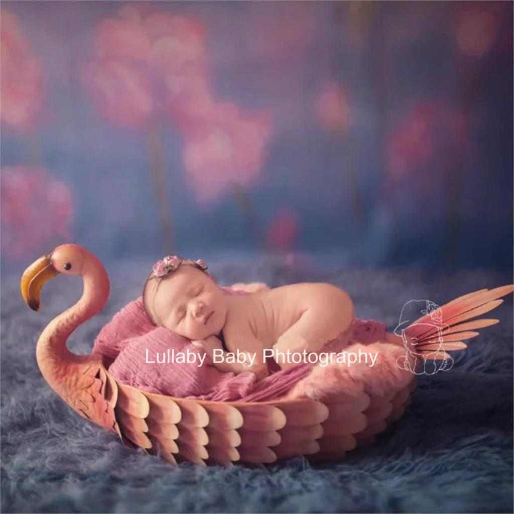 Newborn Photography Props Baby Posing Container Flamingo Owl Photography Container Infant Shoot Accessories Photography Prop