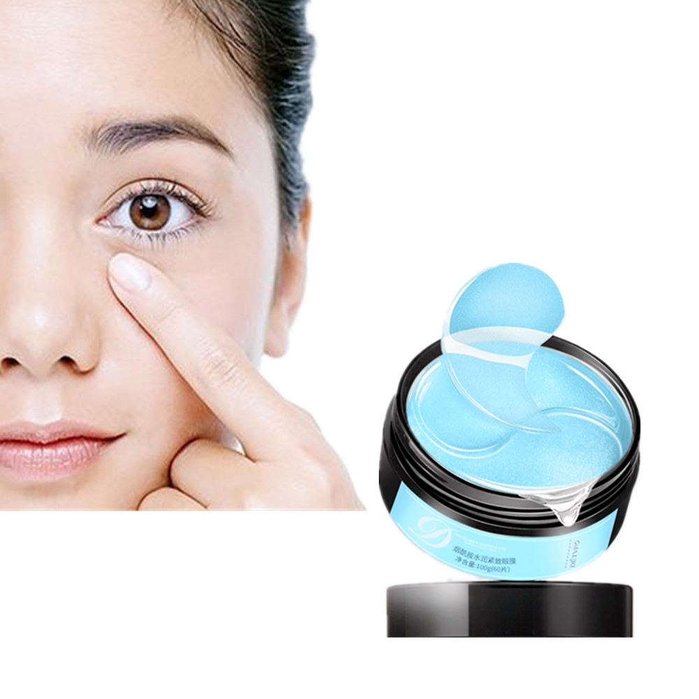 Nicotinamide Nourish Sooth Eye Skin Anti Wrinkle Gel Sleep Gold Patches For Eyes Moisturizing Eye Mask 60pCS Korean Skin Care