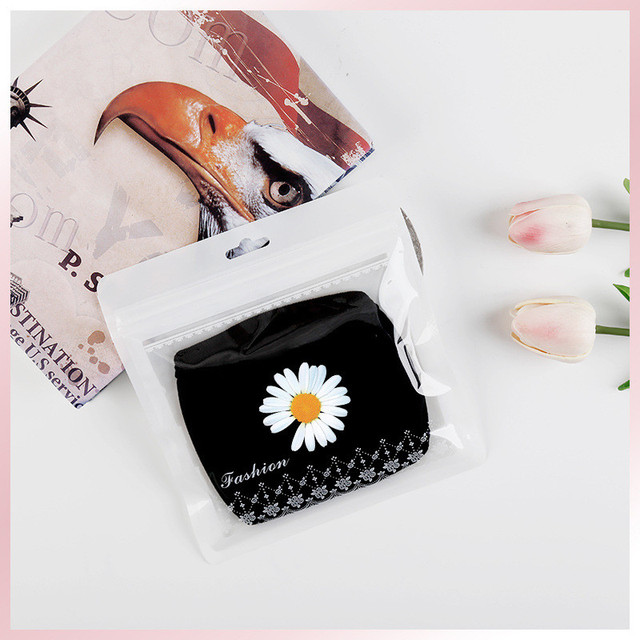 kpop 3pcs G-Dragon Cotton Dustproof Mask Daisy Printing Out door Mask PEACEMINUSONE JH163 5