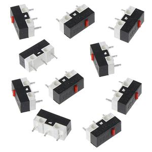 10PCs Button Switch Mouse Switch 3Pin Microswitch For RAZER Logitech G700 Mouse New