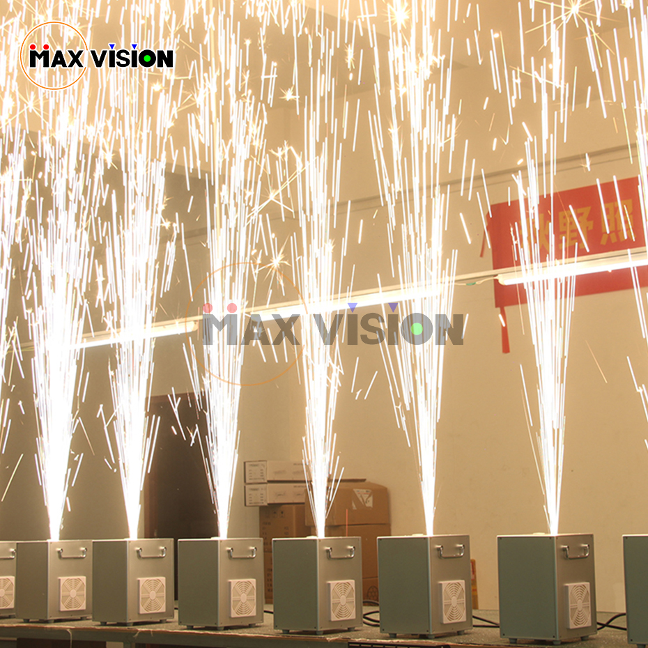 400w Cold Spark Firework Machine For Wedding Celebration Dmx And Remote Control Spark Fountain Sparkular Machine For Stage