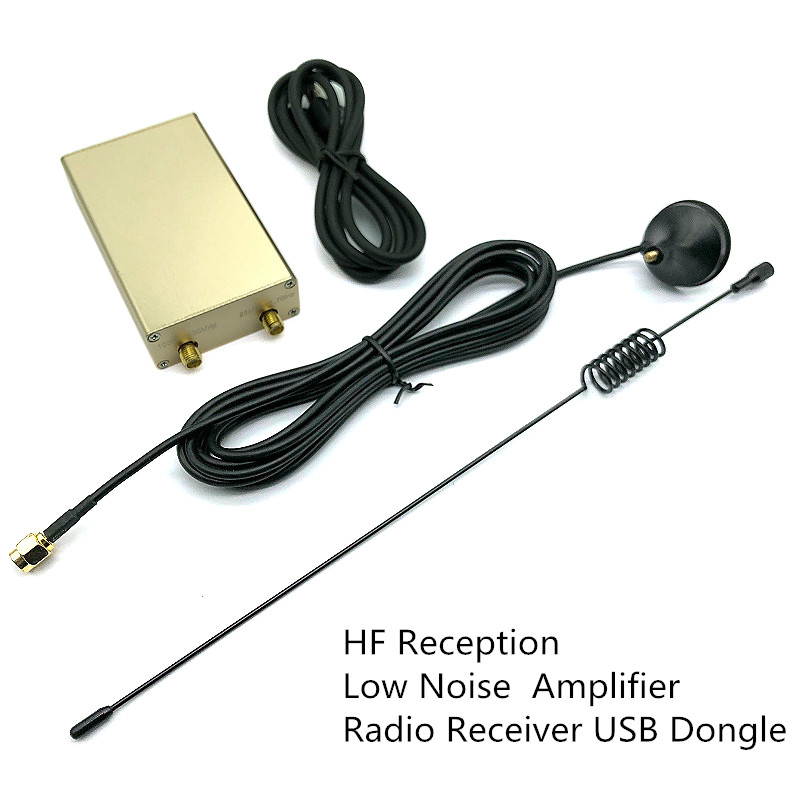 SDR RTL2832U R820T2, высокочастотный приемник 100 кГц-1,8 ГГц, TXCO 0,5 PPM SMA, программное обеспечение, точное радио, частота, USB-ключ
