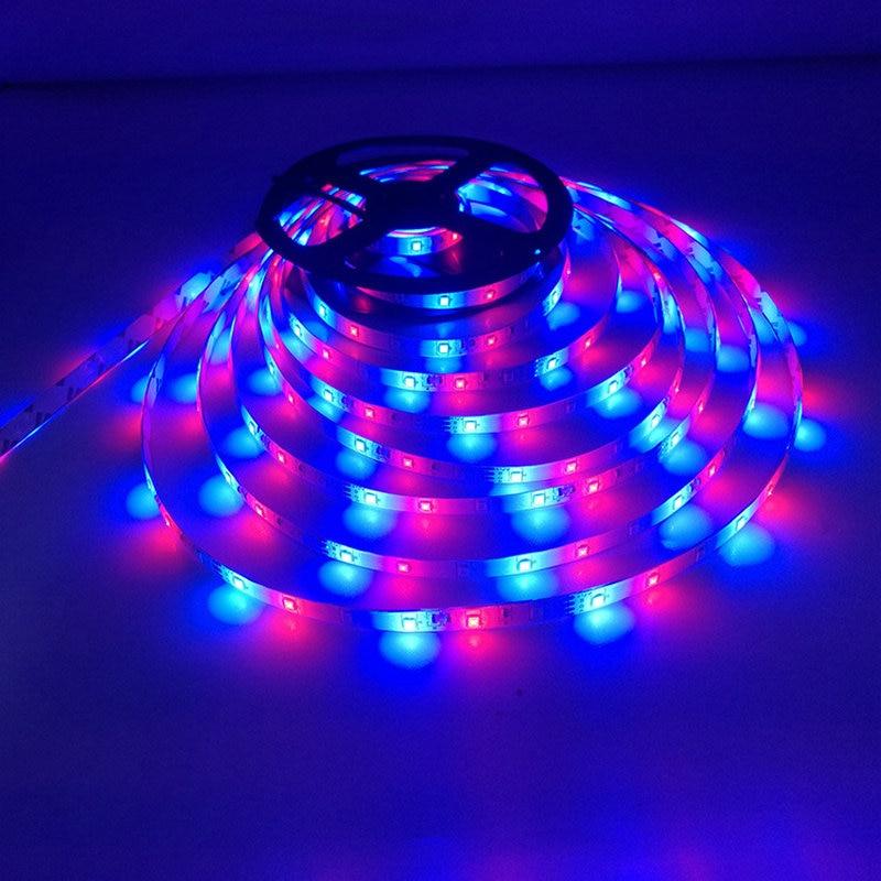 2835 waterproof LED Strip kit 12V RGB led light 5m 10m 2835 24key controller +adapter