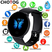 Smart Watch Men 1.3'' Screen Fitness Tracker Ip67 Waterproof Blood Pressure Hear