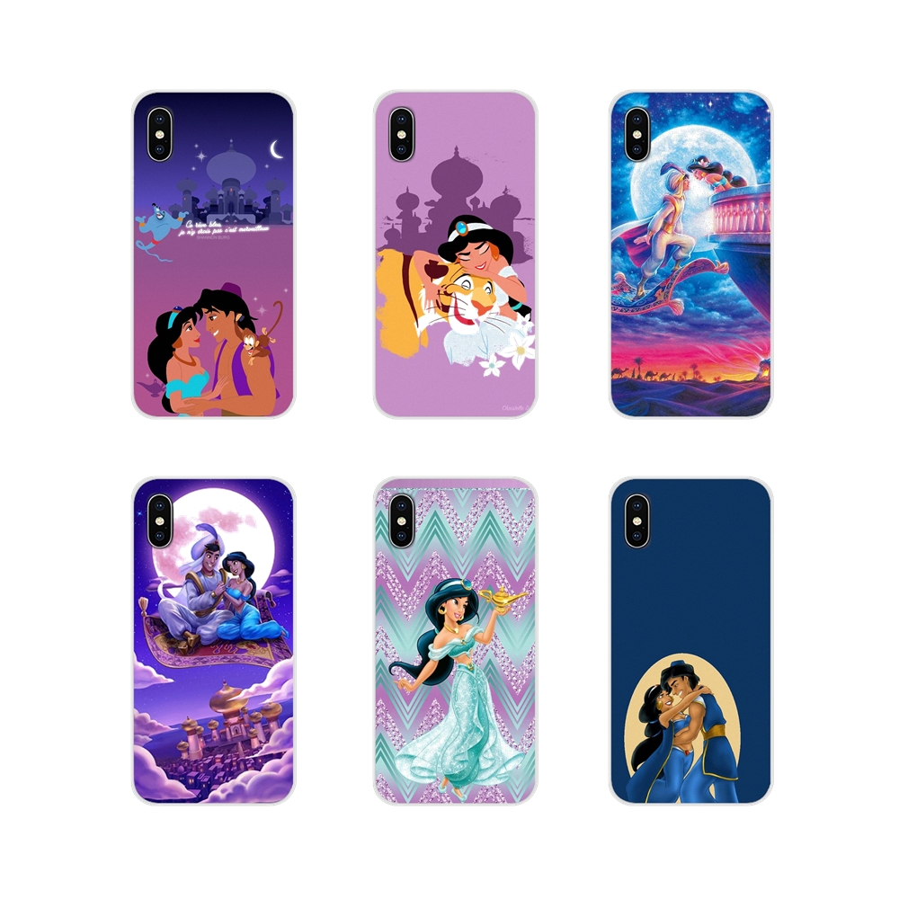 Accessories Phone Cases Covers <font><b>Capa</b></font> Aladdin Princess Jasmine For <font><b>Samsung</b></font> Galaxy S2 S3 S4 S5 Mini S6 S7 Edge S8 S9 <font><b>S10E</b></font> Lite Plus image
