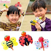 Staraise 50PCS Cartoon Unicorn Bee Butterfly Ladybug Lollipop Decoration Paper Card Wedding Birthday Party Decor Kids