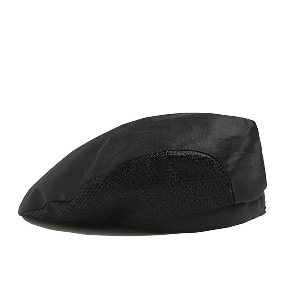 2019 Chef Hats Cafe Bar Waiter Beret Restaurant Kitchen Workwear Baking Caps Men Women Breathable Forward Caps Chef Uniforms Cap