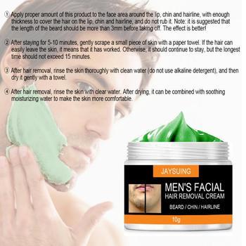 10g 20g 30g 50g męska twarzy wzrost włosów krem do depilacji Inhibitor Spray broda bezbolesne twarzy przystanek włosów krem do depilacji TSLM1 tanie i dobre opinie Mężczyzna CN (pochodzenie)