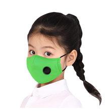 Mascarilla reutilizable PM2.5 para niños, máscara de protección contra la contaminación, no tejida, 1 unidad