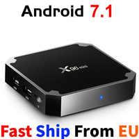 Vontar X96 mini Android 7.1 TV BOX procesor Amlogic S905W QuadCore 2.4G WiFi X96mini Android 7.1 Smart set-top box odtwarzacz multimedialny 4K