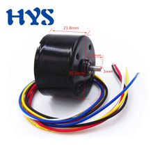 HYS Brushless Mini Motor DC 12 Volt 24V High Speed Electric Motor CW/CCW BLDC 12V 3000rpm Micro Motors DC 24 V  6000rpm DIY цены