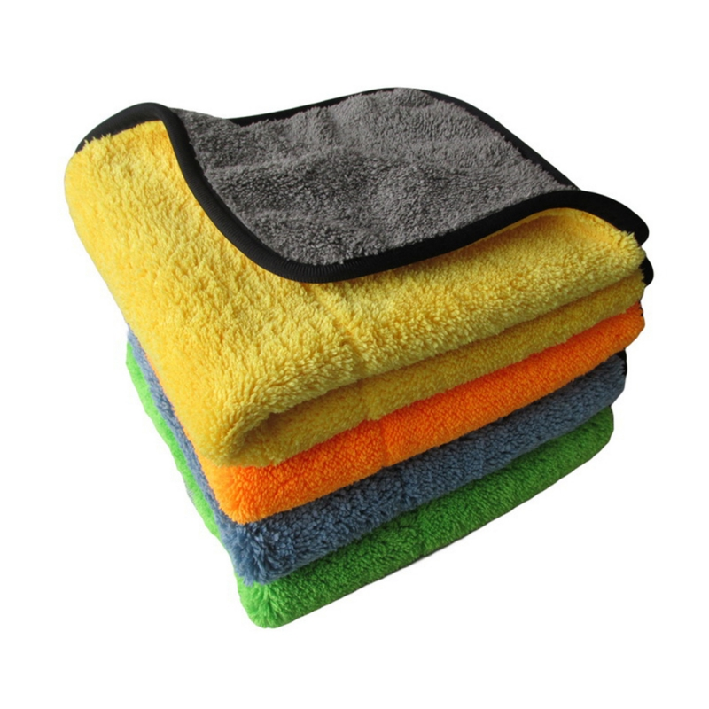 Hot Super Thick Car Plush Microfiber Detailing Wax Polishing Towel  For Car And Home Polishing Washing And Detailing