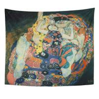 Multa A Donzela em Klimt Gustav 1862 Home Decor Tapeçarias