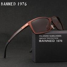2019 New Arrival Aluminum Brand men Sunglasses HD Polarized