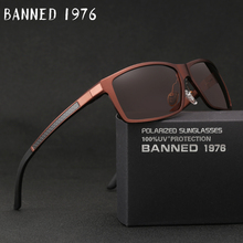 2019 New Arrival Aluminum Brand men Sunglasses HD Polarized Lens Vintage Eyewear Accessories Sun Glasses Oculos For Men male 605