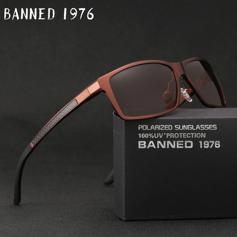 2019 New Arrival Aluminum Brand men Sunglasses HD Polarized Lens Vintage Eyewear Accessories Sun Glasses Oculos For Men male 605 Pakistan
