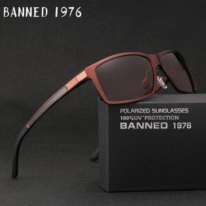 Image 1 - 2019 New Arrival aluminium marka mężczyźni okulary HD soczewki polaryzacyjne Vintage akcesoria do okularów okulary óculos dla mężczyzn mężczyzna 605