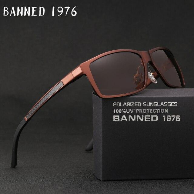 2019 New Arrival aluminium marka mężczyźni okulary HD soczewki polaryzacyjne Vintage akcesoria do okularów okulary óculos dla mężczyzn mężczyzna 605