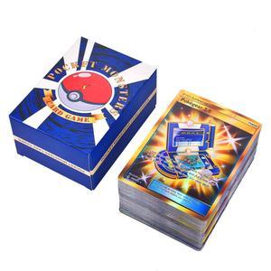 Image 4 - 120 قطعة مجموعة بطاقة البوكيمون يضم 30 فريق العلامة ، 50 ميجا ، 19 المدرب ، 1 الطاقة ، 20 الترا الوحش
