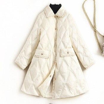 Chaqueta de Invierno para Mujer, Abrigo cálido 90% de plumas de pato...