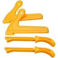 4 stücke T1 T2 Hand Schutz Sägemehl Holz Sah Push Stick Set Für Zimmerei Tisch Holzbearbeitung HT2381-in Brecheisen aus Werkzeug bei