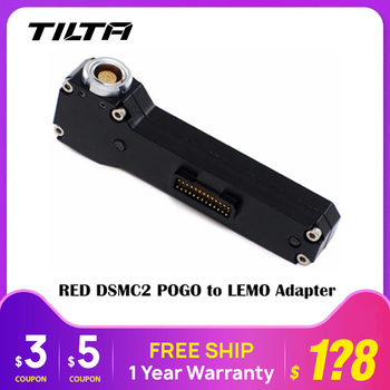 Tilta REL-03 Pogo naar LEMO Adapter do czerwonej kamery DSMC2 akcesoria do kamer tanie i dobre opinie CN (pochodzenie)