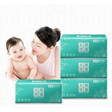 Soft Facial Paper Soft Pack Wipe Paper 12 Packaging 110 Pump Bamboo Pulp Facial Tissue 4-ply Toilet Paper Fast Shipping
