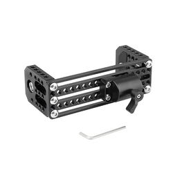 CAMVATE On-camera Monitor Holder C Frame Cage With Light Stand Head (Max. Column Diameter 16mm) C2426