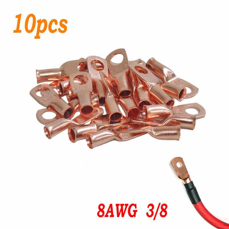 50 un cable de cobre OT-20A conector de cableado Lugs 6mm de diámetro Anillo Terminal para Coche
