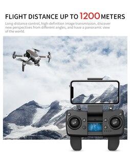 Image 5 - L109 برو الطائرة بدون طيار 4K لتحديد المواقع HD كاميرا ذات محورين 5G واي فاي FPV فرش السيارات بطاقة SD 1200 متر لمسافات طويلة طائرات بدون طيار المهنية أجهزة الاستقبال عن بعد