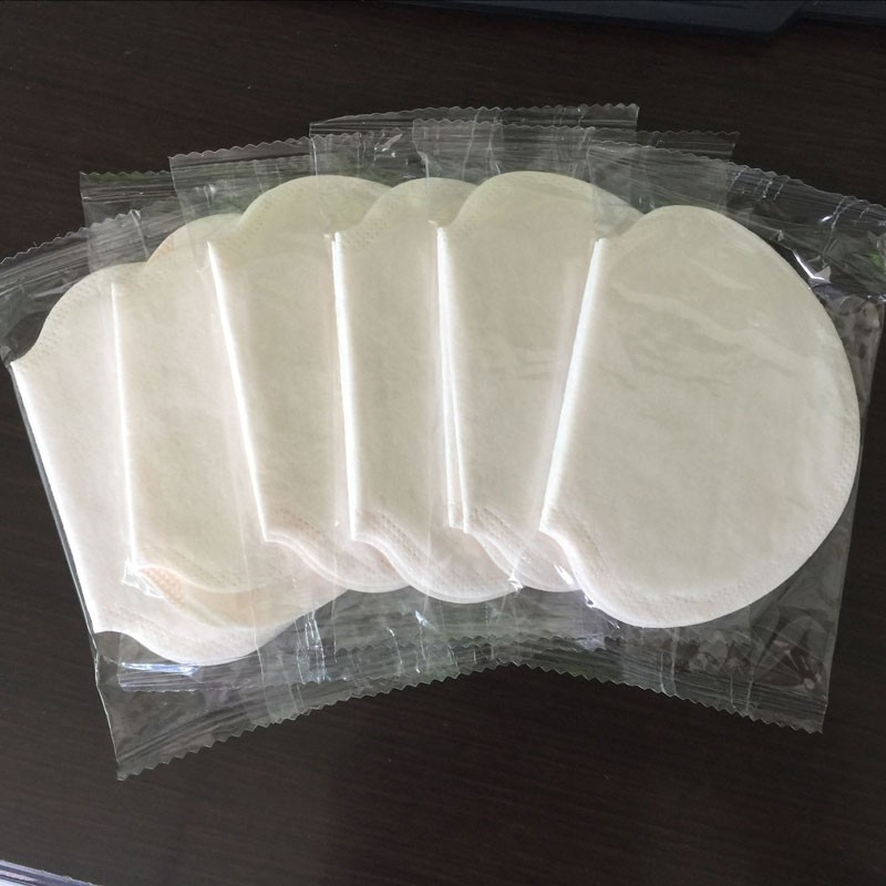 Newly 12 Pairs Disposable Underarm Sweat Pads Guard Armpit Sheet Liner Antiperspirant Tape Stickers Deodorant Pad Dress Shield C