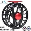 Maximumcatch FMD 5 13wt Vliegvissen Reel 100% Volledig Waterdicht Super Licht Vliegen Reel met Zoutwater Multi disc Slepen