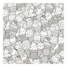 AZSG Various Ice cream Clear Stamps For DIY Scrapbooking/Card Making/Album Decorative Silicone Stamp Crafts