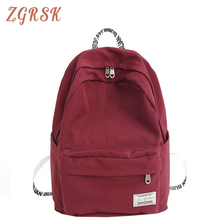 Women Fashion Nylon Backpack Bagpack Women Back Pack Bagpack School Bags For Teenage Girl High Quality Letters Backpacks Bag все цены