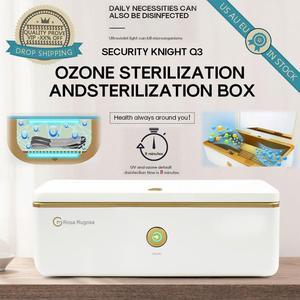 УФ-стерилизатор коробка с озоном CPAP очиститель Светодиодный УФ-светильник коробка для дезинфекции чехол бытовой инструмент для ногтей сте...