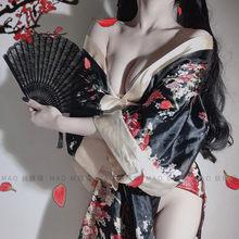 Женский костюм для косплея в традиционном японском стиле юката