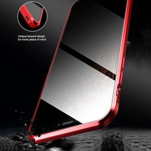 Image 5 - Магнитный адсорбционный металлический чехол для телефона iPhone 6 6s 8 7 Plus X двухсторонний стеклянный Магнитный чехол для iPhone X XS MAX XR чехлы