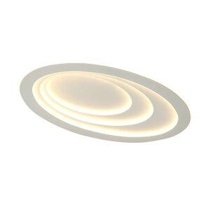 Image 5 - Plafonnier led à haute luminosité, design moderne, éclairage dintérieur, luminaire de plafond, montage en surface, idéal pour un salon, une chambre détude ou un bureau