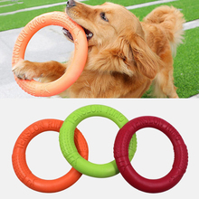 Hund Spielzeug Fliegenden Scheiben Pet Interaktive Ausbildung Ring Hund Tragbare Outdoor für Kleine Große Hund Kauen Spielzeug Pet Bewegung Werkzeuge produkte